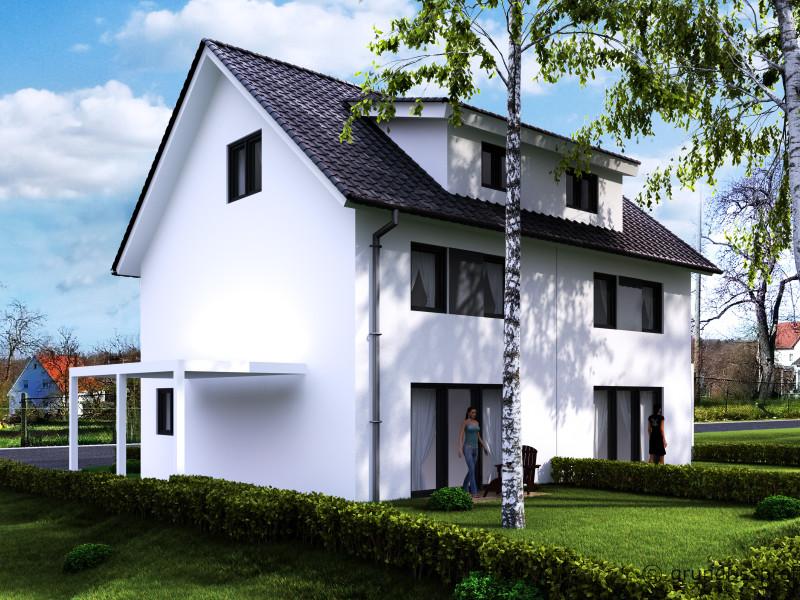 Demnächst entsteht in RT-Ohmenhausen ein gemütliches Doppelhaus mit Platz für die ganze Familie